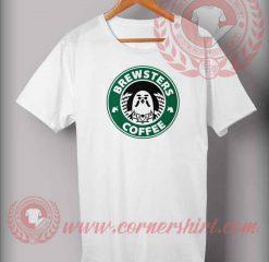 Brewsters Coffee Parody T shirt