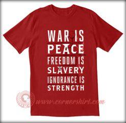 War Is Peace T shirt