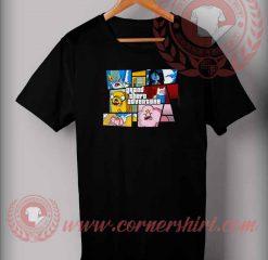 Grand Theft Adventure Parody T shirt