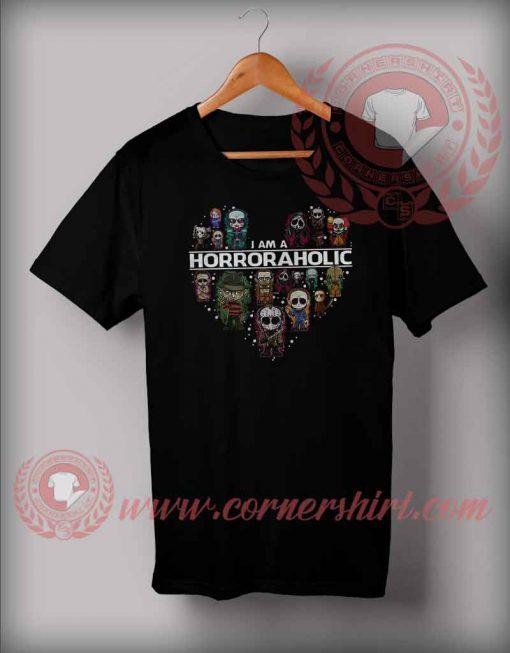 I'm Horror Aholic T shirt