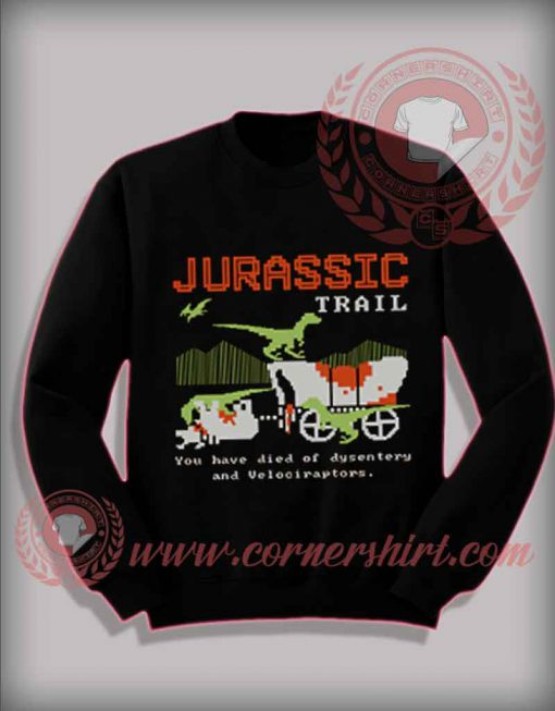 Jurassic Trail Christmas Sweatshirt