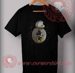 Mickey Run With Droidbots T shirt