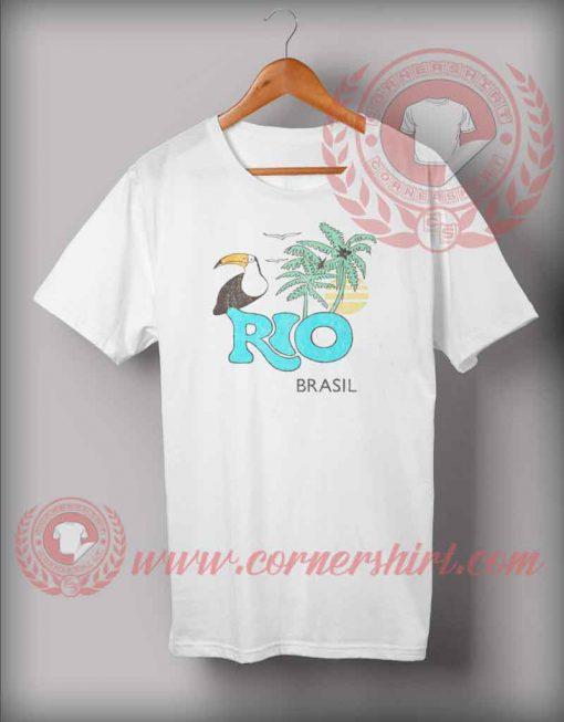 Rio De Janeiro Brazil T shirt