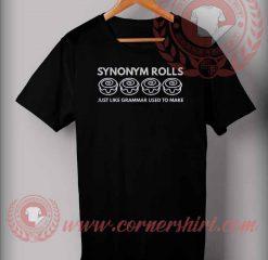 Synonym Rolls T shirt