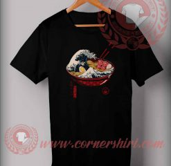 The Great Wave Ramen T shirt