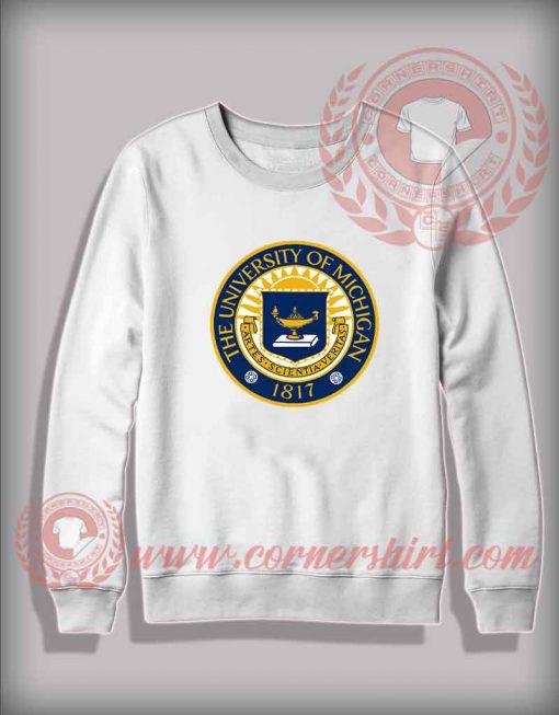 The University Of Michigan Sweatshirt