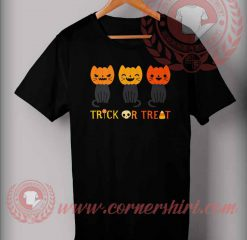 Trick Or Treat Meow T shirt