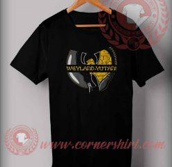 Weyland Yutani Wu-Tang Parody T shirt