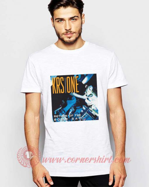 KRS One Return Of The Boom Bap T shirt