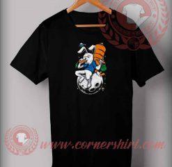 Moon Rabbit Eat T shirt