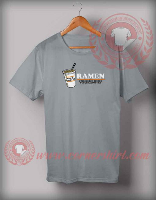 Ramen Budget Approved T shirt