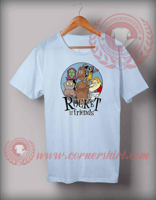 Rocket And Friends T shirt