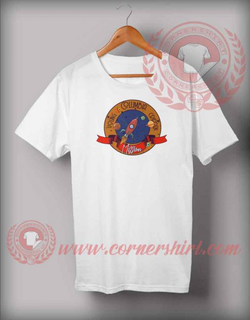 Young Columbia Mission T shirt
