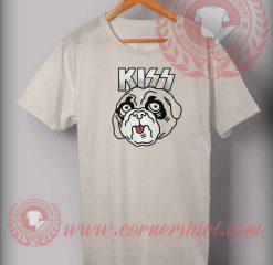 Kiss Pug Parody T shirt