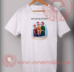 Merry Christmas Stay Golden T shirt