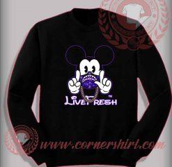 Mickey Bape Live Fresh Sweatshirt