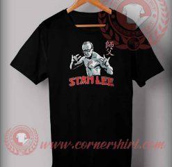 Stan Lee As Bruce Lee T shirt