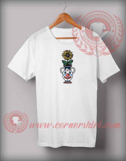 Sun Flower Clown T shirt