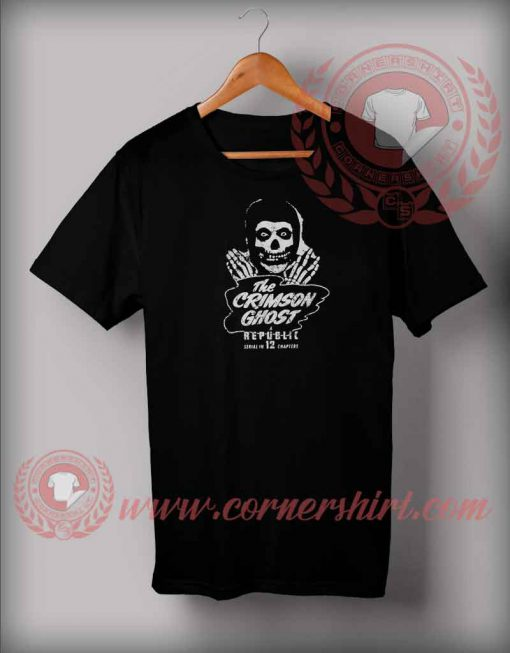 The Crimson Ghost T shirt