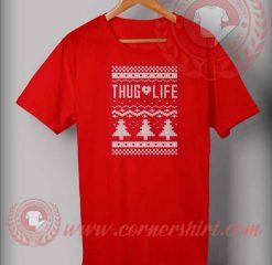 Ugly Thug Life Christmas T shirt