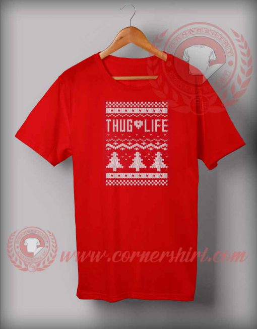 Ugly Thug Life Christmas T shirt