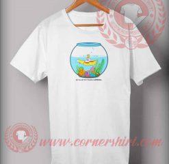 Yellow Submarine In Tank T shirt