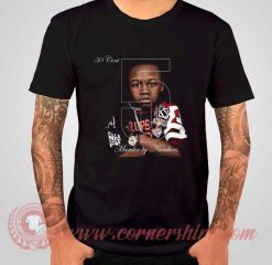 50 Cent 5 Murder By Numbers Albums T shirt