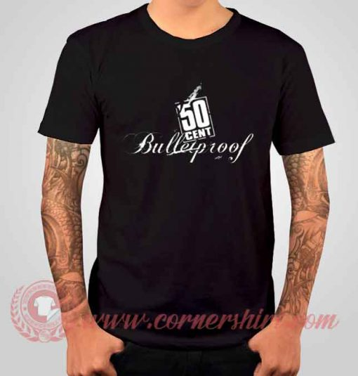 50 Cent Bulletproof Albums T shirt