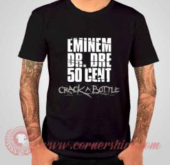 50 Cent Feat Eminem Crack A Bottle Albums T shirt