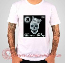 50 Cent Forever King Albums T shirt