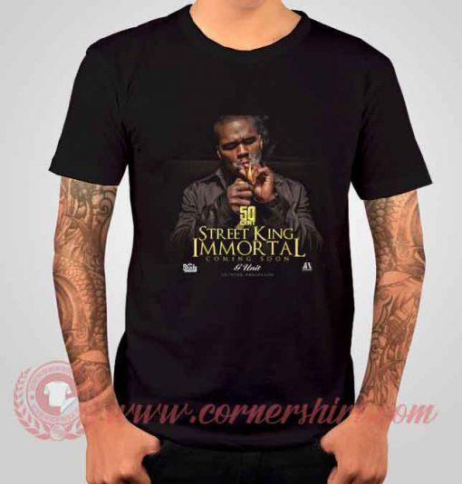 50 Cent Street King Immortal Albums T shirt