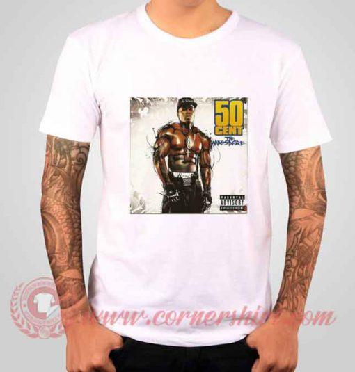 50 Cent The Massacre Albums T shirt