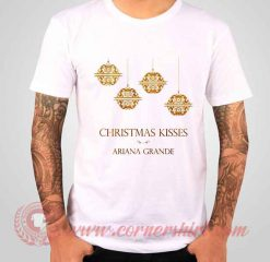 Ariana Grande Christmas Kisses Albums T shirt