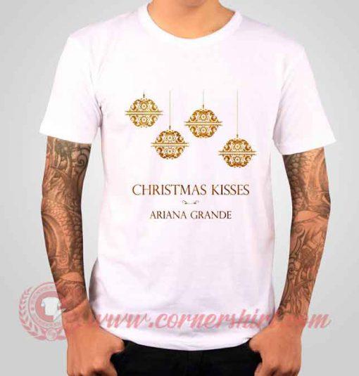 Ariana Grande Christmas Kisses Albums T shirt