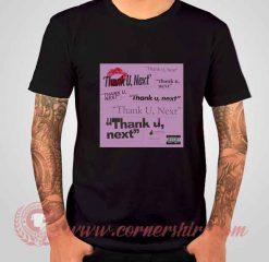 Ariana Grande Thank U Next Albums T shirt