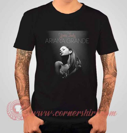 Ariana Grande Yours Truly Albums T shirt