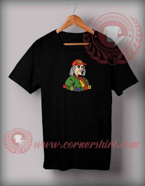 Benjamin Franklin Young Parody T shirt
