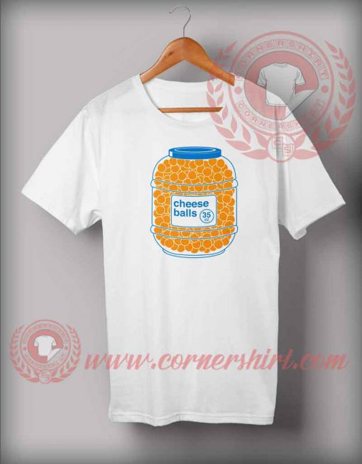Cheese Balls Logo T shirt