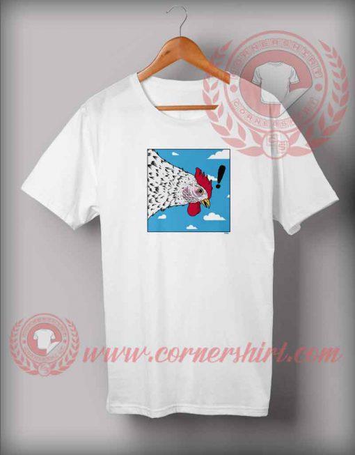 Chicken Fly Attack T shirt