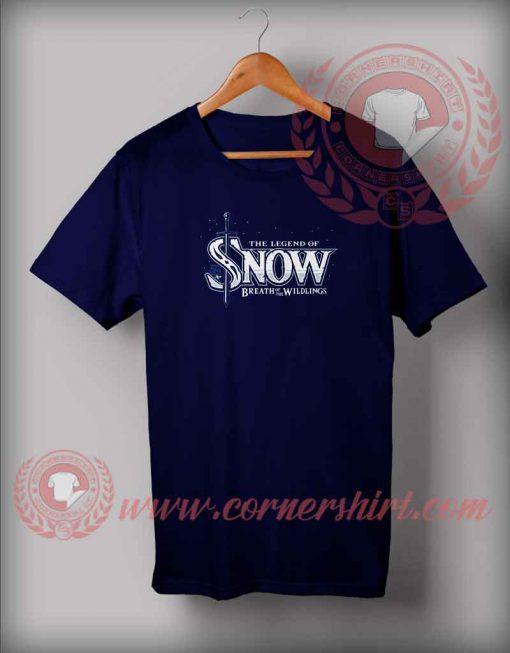 The Legend Of Snow T shirt