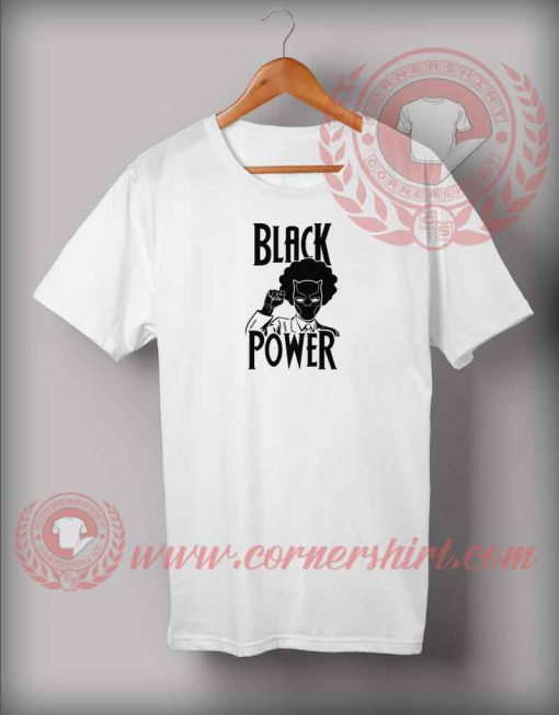 Black Panther Black Power T shirt