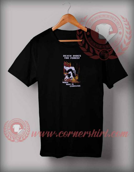 Death Rides The Forest T shirt