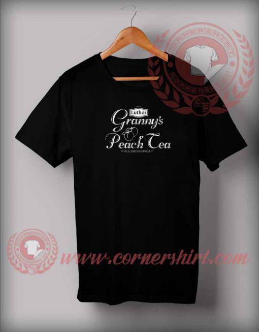 Granny Peach Tea T shirt
