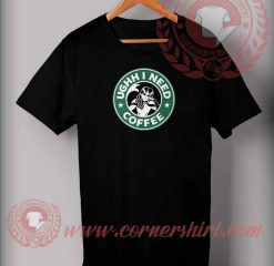 Mermaid Need Coffee T shirt