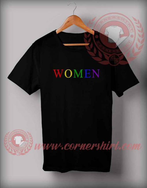 Word-Women-Color-T-Shirt