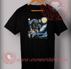 Boba Fett Stary Night T shirt
