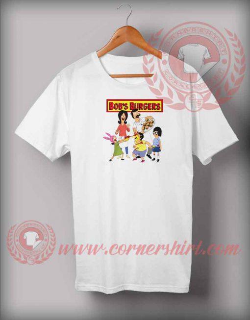 Bob's Burgers Family T shirt