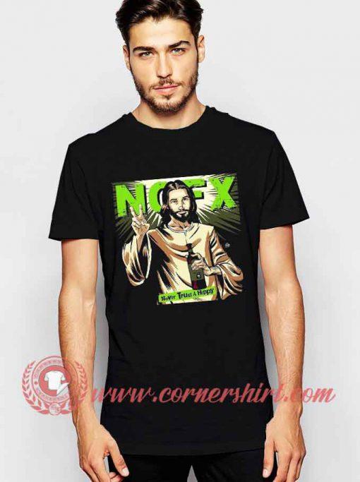 NOFX Never Trust A Hippy T shirt