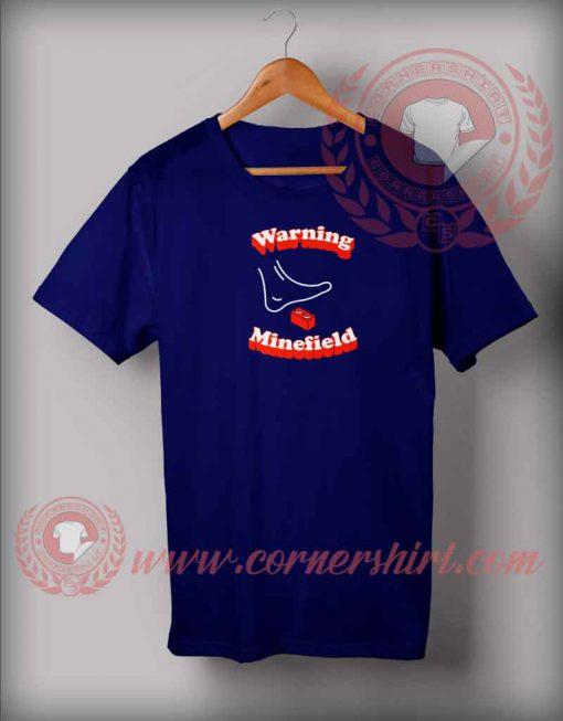 Warning Minefield T shirt
