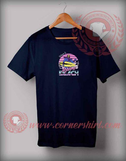 Welcome To Myahmi Beach T shirt
